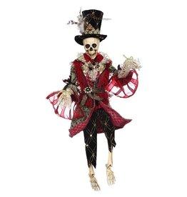 Mark Roberts Fairies Halloween Skeletons 51-68160 Mr Fashion Skeleton 22 inch