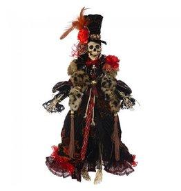 Mark Roberts Fairies Mark Roberts Halloween Skeletons 51-68172 Mrs Haute Couture Skeleton 21in