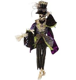 Mark Roberts Fairies Mark Roberts Halloween Skeletons 51-68168 Mr High LIfe Skeleton 21in