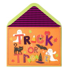 Papyrus Greetings Halloween Card Trick or Treat by Papyrus