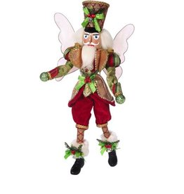 Mark Roberts Fairies Mark Roberts Fairies Nutcracker Fairy 51-68744 Festive Soldier  20.5in