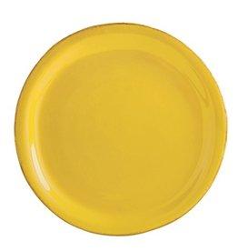 Vietri Dinnerware Vietri Tuscan Solid Fantasia Yellow Dinner Plate