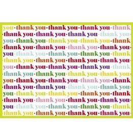 Caspari Thank You Card 83516.11 Thank You