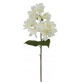 Winward Silk Flowers Artificial 95601.WH Bougainvillea White 19 inch