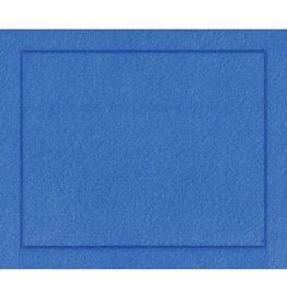 Caspari Placemats Paper Linen 11373PM Blue Place Mats Roll of 10