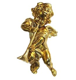 Mark Roberts Christmas Decorations Cherub Ornament w Trumpet RH
