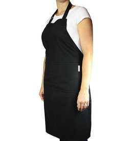 MUkitchen Cotton Twill Chef Apron - Solid Onyx