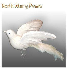 North Star Premier Bird Decoration Open Winged Bird Ornament