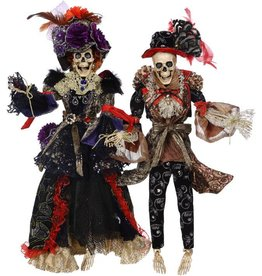Mark Roberts Fairies Mark Roberts Halloween Skeletons 51-68164 Mr and Mrs Vogue 20 inch