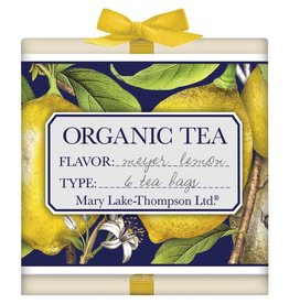 Mary Lake-Thompson Organic Teas 6pk-Wood Gift Box-Meyer Lemon