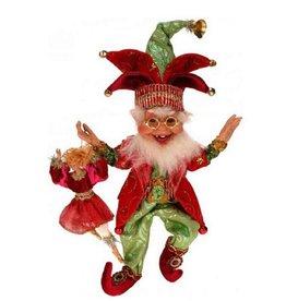 Mark Roberts Fairies Elves 51-41472 9 Ladies Dancing Elf SM 10.5 inch