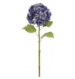 Winward Silk Flowers Artificial 95623.PU Hydrangea M.-Purple