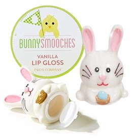 Twos Company Easter Bunny Smooches Vanilla Lip Gloss 80582