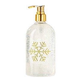 Twos Company Christmas Sugar Cookie Hand Soap w Bling Snowflake 16oz 16oz 80383-20-A