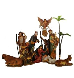 Mark Roberts Christmas Decorations Da Vinci Italian Nativity Set of 12