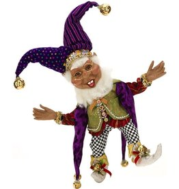 Mark Roberts Fairies Elves African American Black Court Jester Elf MD 51-68237