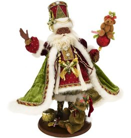Mark Roberts Fairies Santas African American Teddy Bear Santa 51-68363