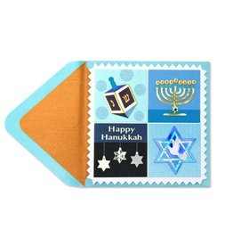 Papyrus Greetings Chanukah Card Hanukkah Icons by Papyrus