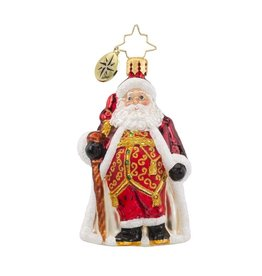 Christopher Radko Christmas Ornament Little Gem Best Day of the Year