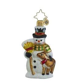 Christopher Radko Christmas Ornament Little Gem Good Friends Forever