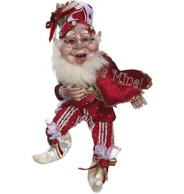 Mark Roberts Fairies Mark Roberts Elves Valentines Day Be Mine Elf 11 Inch 51-71800