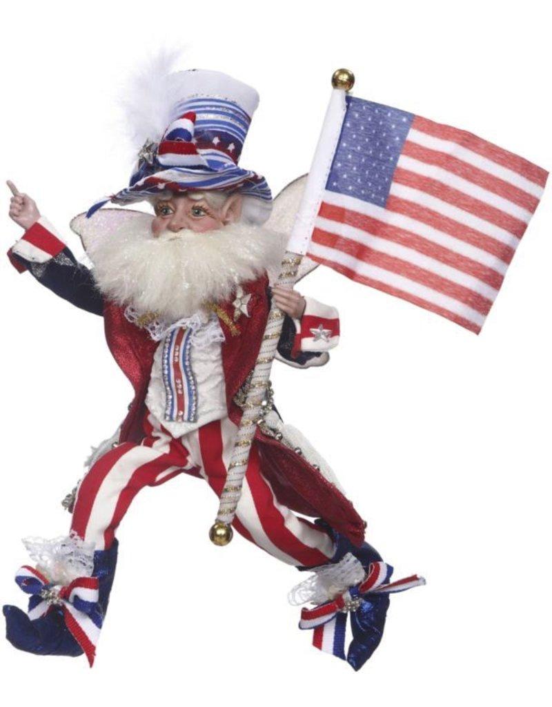 Mark Roberts Fairies Patriotic 51-71846 Patriotic Fairy Sm 11 inch