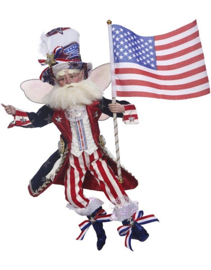 Mark Roberts Fairies Patriotic 51-71848 Patriotic Fairy Med 18 inch