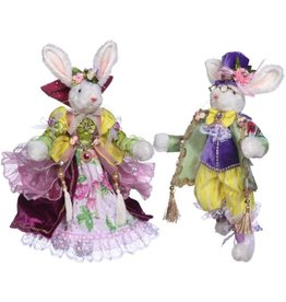 Mark Roberts Fairies Bunnies Mr and Mrs Royal Court Couple 13 inch 51-71912