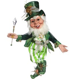 Mark Roberts Fairies Elves Irish St Patricks 51-71806 Pot of Gold Elf 21 inch