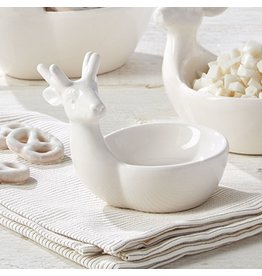 Twos Company Oh Deer Reindeer Serving Bowl 80713-SM by Twos Company