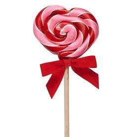 Hammonds Candies Heart Lollipop Wild Cherry 2oz by Hammonds Candies