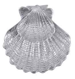 Mariposa Serving Platter 2160 Shell 2 Piece Chip and Dip
