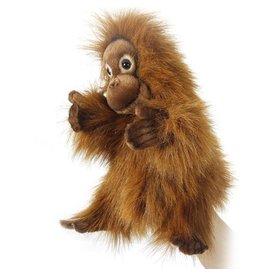 Hansa Toy Plush Hand Puppet Orangutan 4038