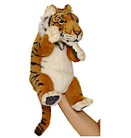 Hansa Toy Plush Hand Puppet Tiger 4039