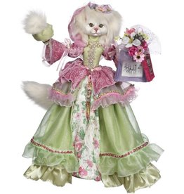 Mark Roberts Fairies Cats 51-71930 Classy Cat Shopping 25 inch