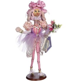 Mark Roberts Fairies Spring Decoration 51-71932 Shopping Prissy Poodle 27 inch
