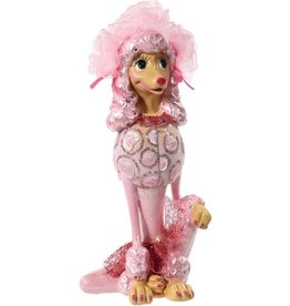 Mark Roberts Fairies Spring Decoration 60-65714  Prissy Pink Poodle 13 inch