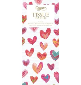 Caspari Gift Tissue Paper 8983TIS Happy Hearts Tissue