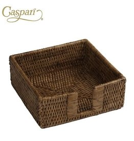 Caspari Rattan HC01 Rattan Cocktail Napkin Holder