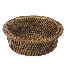 Caspari Rattan HWC01 Rattan Wine Bottle Coaster