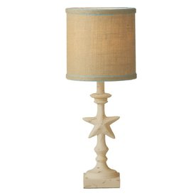 Midwest-CBK Sealife Lamp w Shade 18H Starfish Base
