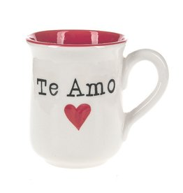 Midwest-CBK Te Amo w Heart 16oz Coffee Mug