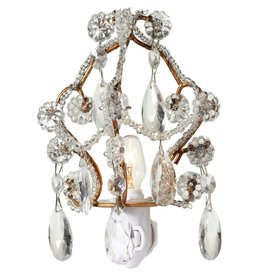 Midwest-CBK Nightlights 138552 Gold Chandelier Night Light