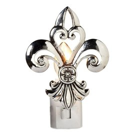 Midwest-CBK Nightlights 136564 Fleur De Lis Night Light