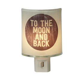 Midwest-CBK Nightlights 121590 To The Moon And Back Night Light