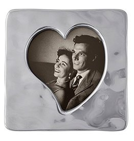 Mariposa Photo Picture Frame 1370 Small Square Open Heart