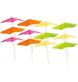 Party Partners Party Picks 12Pk Fiesta Umbrella Picks by Party Partners