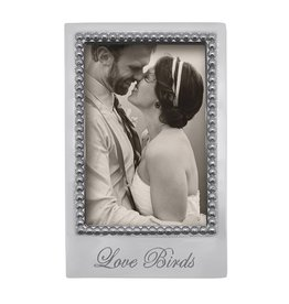 Mariposa Love Birds 4x6 Photo Picture Frame Engraved 3912LB