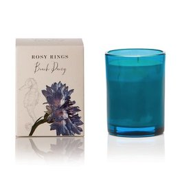 Rosy Rings Botanical Glass Jar Candle Beach Daisy Candle 17.5oz