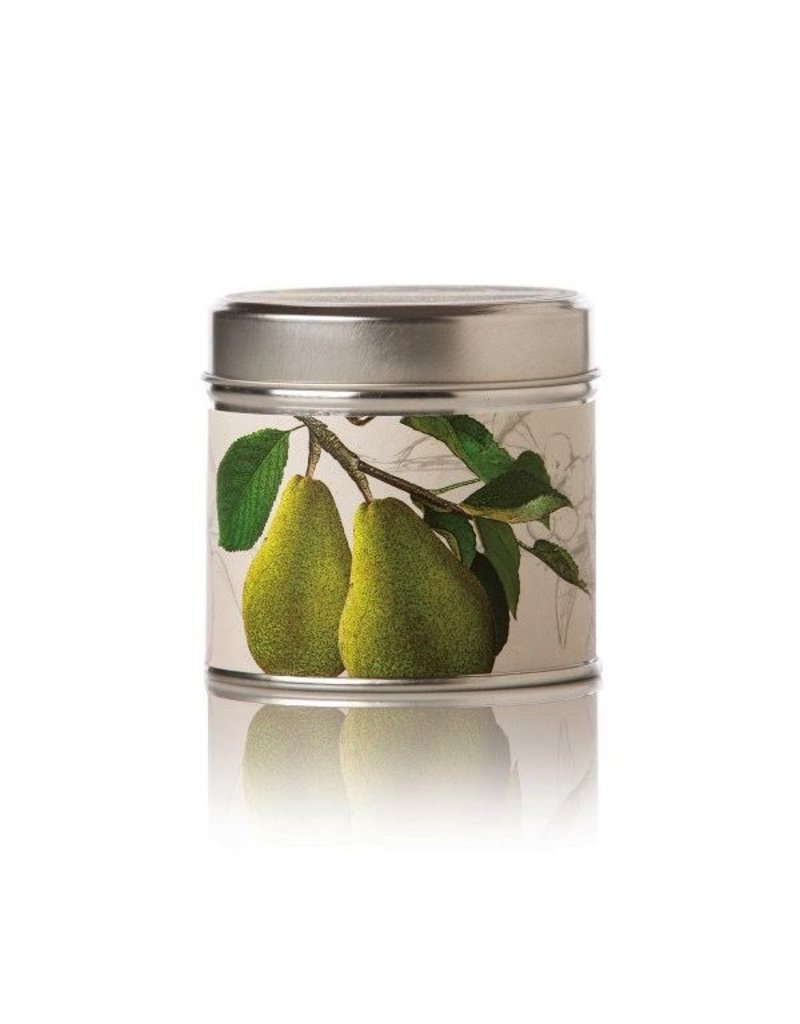 Rosy Rings Soy Candle Tin Anjou Pear Candle 8oz